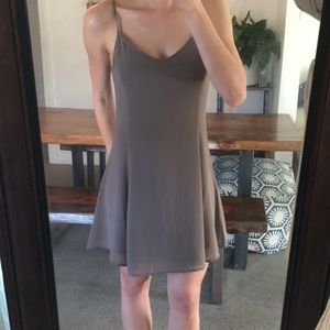 Brown/taupe dress